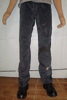 Poseidon Soft Navy Blue Pants