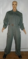 Military Style Green-Grey Jumpsuit