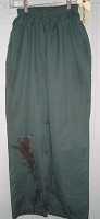 Poseidon Women's Green Work Pants