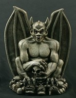 Gargoyle on Skulls Prop