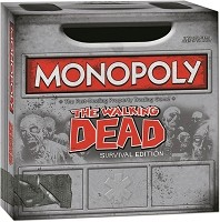 The Walking Dead Comic Monopoly