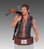 The Walking Dead Daryl Dixon Mini Bust