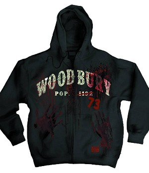 The Walking Dead Woodbury Zip Up Hoodie
