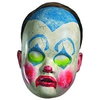 Clown Doll Face Mask