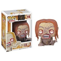 POP The Walking Dead Bicycle Girl Zombie
