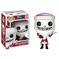 POP Nightmare Before Christmas Santa Jack Skellington