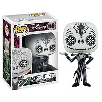 POP Nightmare Before Christmas 'Day of The Dead' Jack Skellington