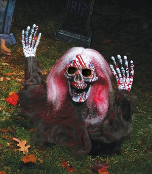 Bloody Grave Breaker with White Hair Prop