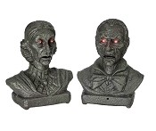 Interactive Talking Busts Prop