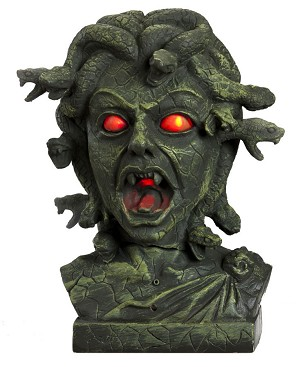 Medusa Head Animated Prop