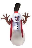 Sinister Snowman Inflatable