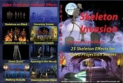 Skeleton Invasions Special FX DVD