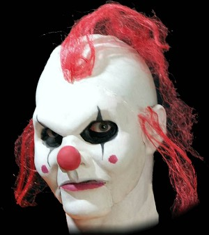 Clown Full Face Foam Latex Appliance