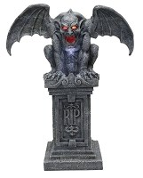 Animated Gargoyle Statue