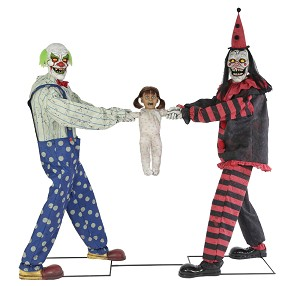 Clown Tug Of War Animated Prop