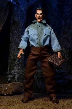 Evil Dead 2 Deadite Ash  8'' Clothed Action Figure