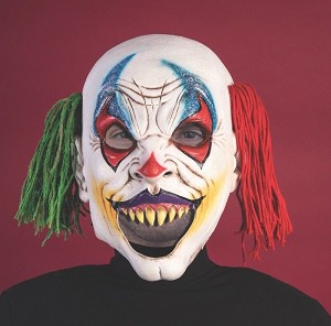 Open Mouth Clown Mask