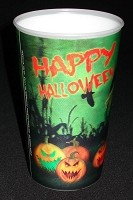 3D Lenticular Pumpkin Party Cup