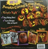 Pumpkin Wow Carving Tattoos - Family Pack