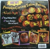 Pumpkin Wow Carving Tattoos - Classic Pack
