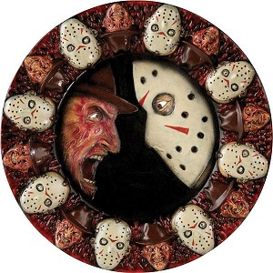 Freddy vs Jason Serving Platter