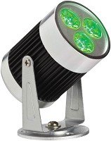 LED Spot Light - Green Indoor