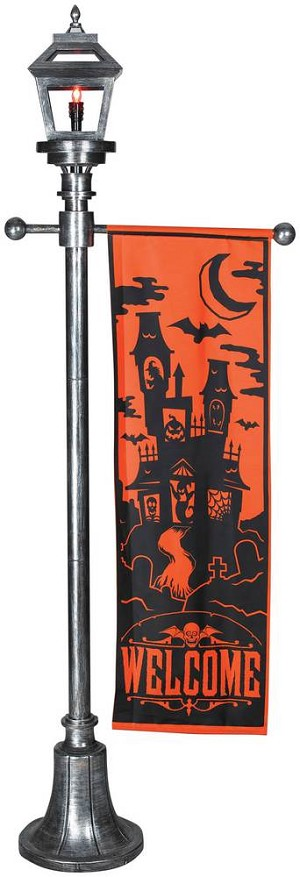 6 Ft Lamp Post with Banner Prop