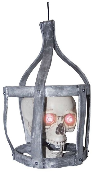 Talking Skull in Cage