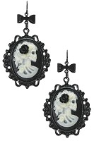 Glow In The Dark Cameo- Earrings