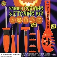 Family Carving and Etching Kit 20pc
