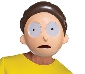 Morty Mask- Rick and Morty