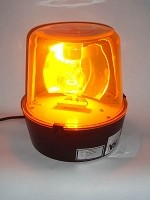 "10 "" Yellow Police Light Beacon"