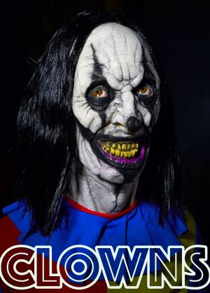 Halloween Scary Clowns Props 2020 Halloween Asylum   100% Scary Halloween Props and Halloween Masks