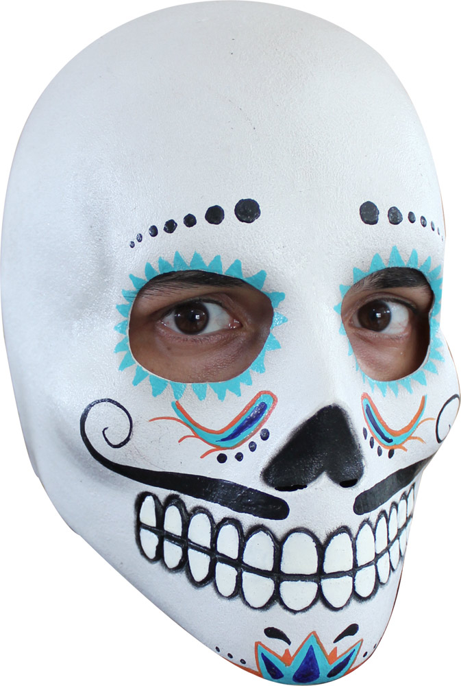 Day Of The Dead Catrin Deluxe Mask
