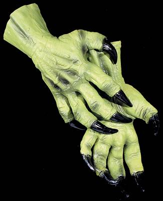 Green Witch Hands