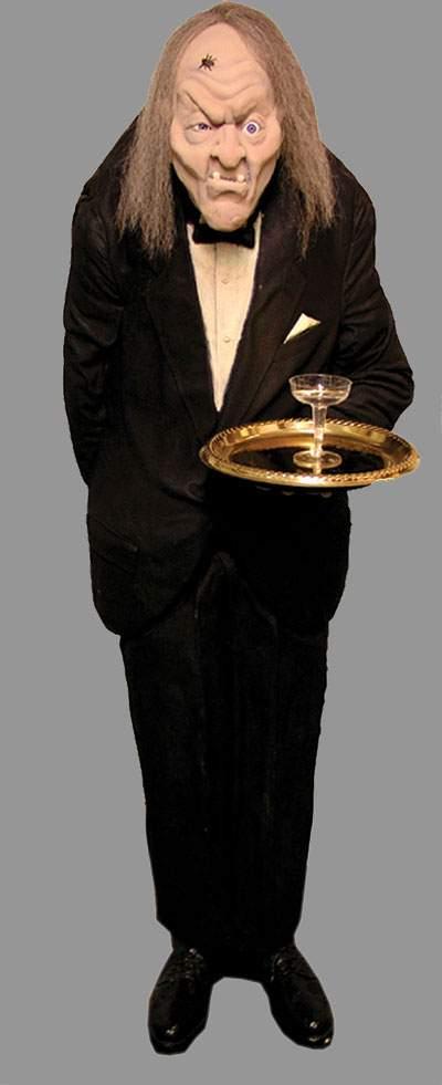 Gravely The Butler Halloween Prop