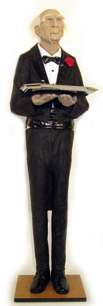 Dobson The Butler Animated Halloween Prop