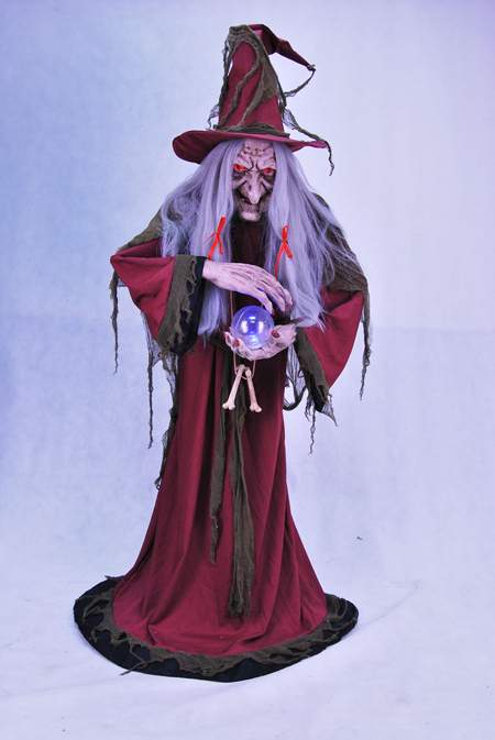 Helga Fortune Teller Animated Prop