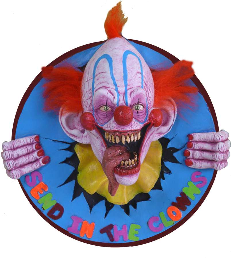 Send in the Clowns Plaque