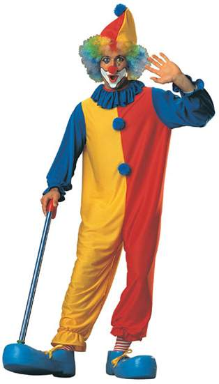 Red, Yellow & Blue Clown