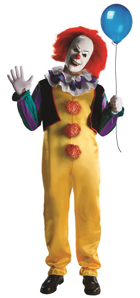 Pennywise Deluxe Halloween Costume Size Large