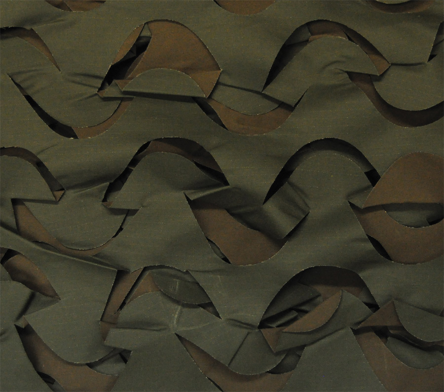 10'x20' Camouflage Netting Brown/Green