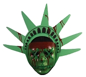 Lady Liberty Light Up Mask- The Purge