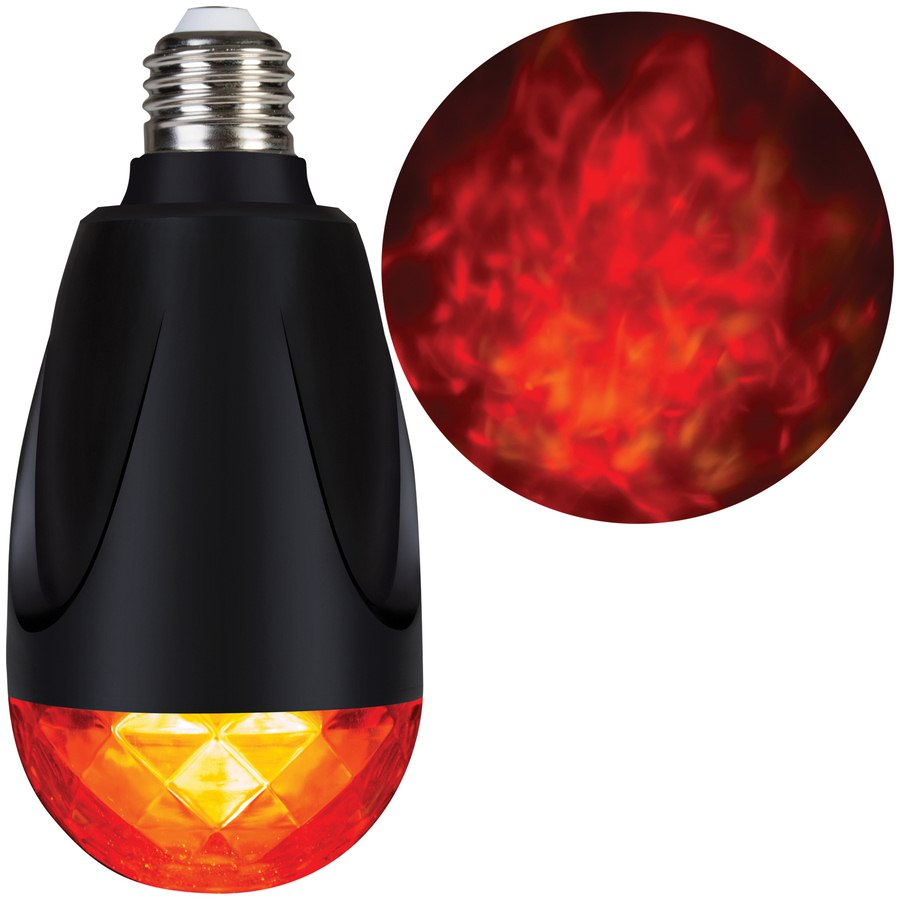 Fire and Ice Projection Light Bulb