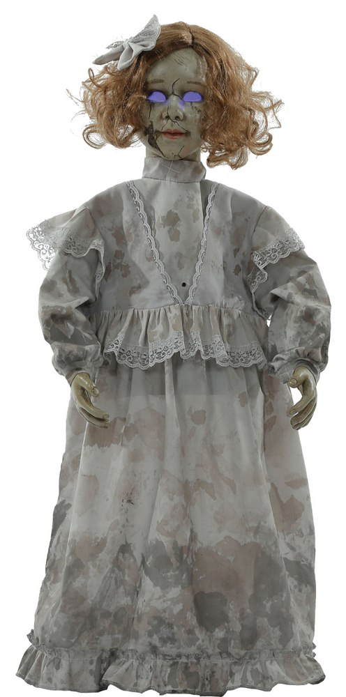 Cracked Victorian Doll Prop