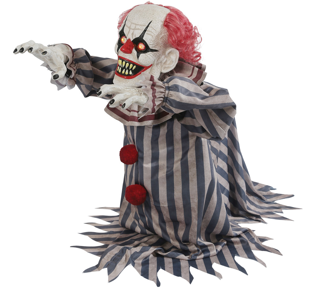 Animated Jumping Clown Prop