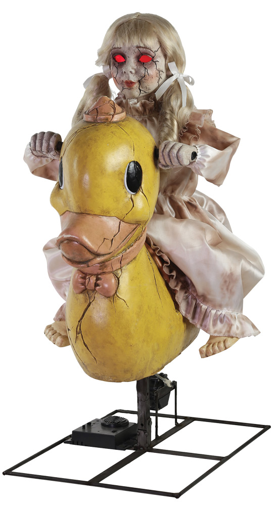 Rocking Ducky Doll Animated Prop