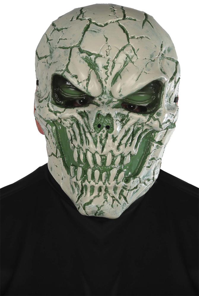Poison Light Up Skull Mask