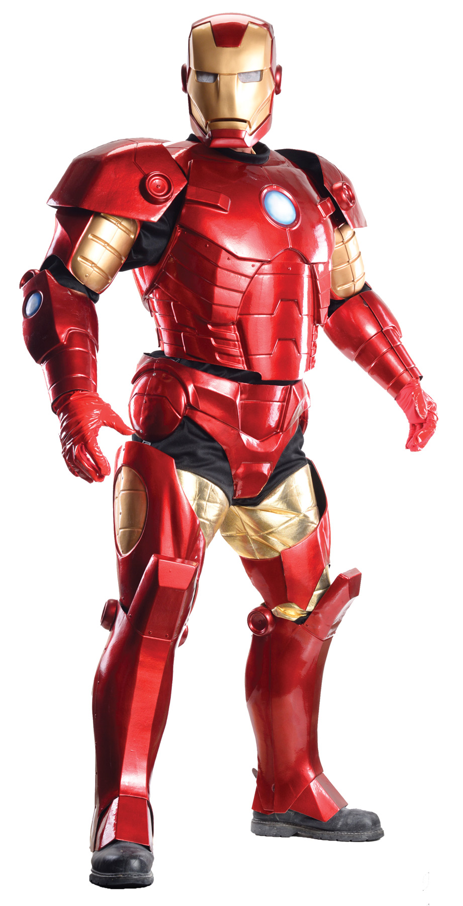 Iron man supreme edition adult costume - Masque iron man adulte ...