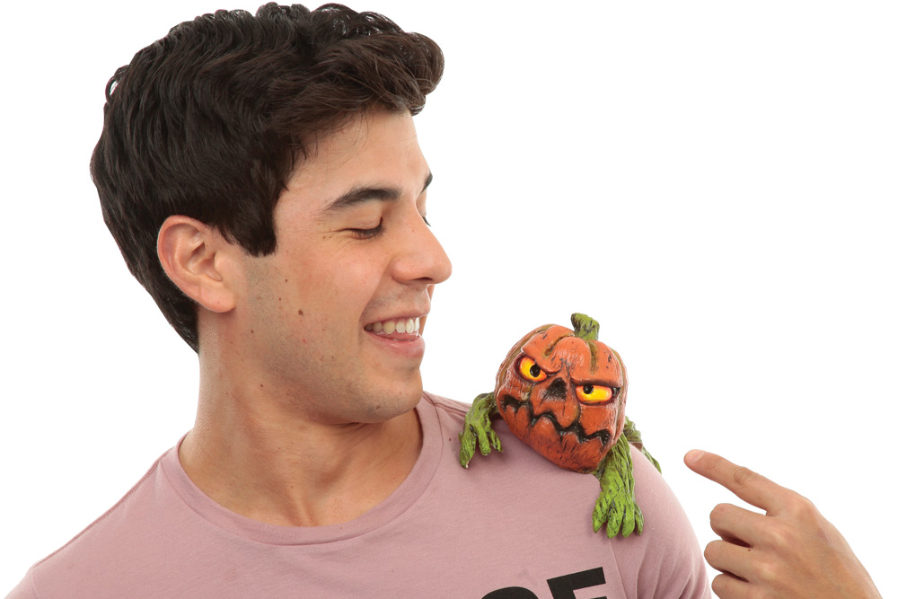 Pumpkin Shoulder Buddy
